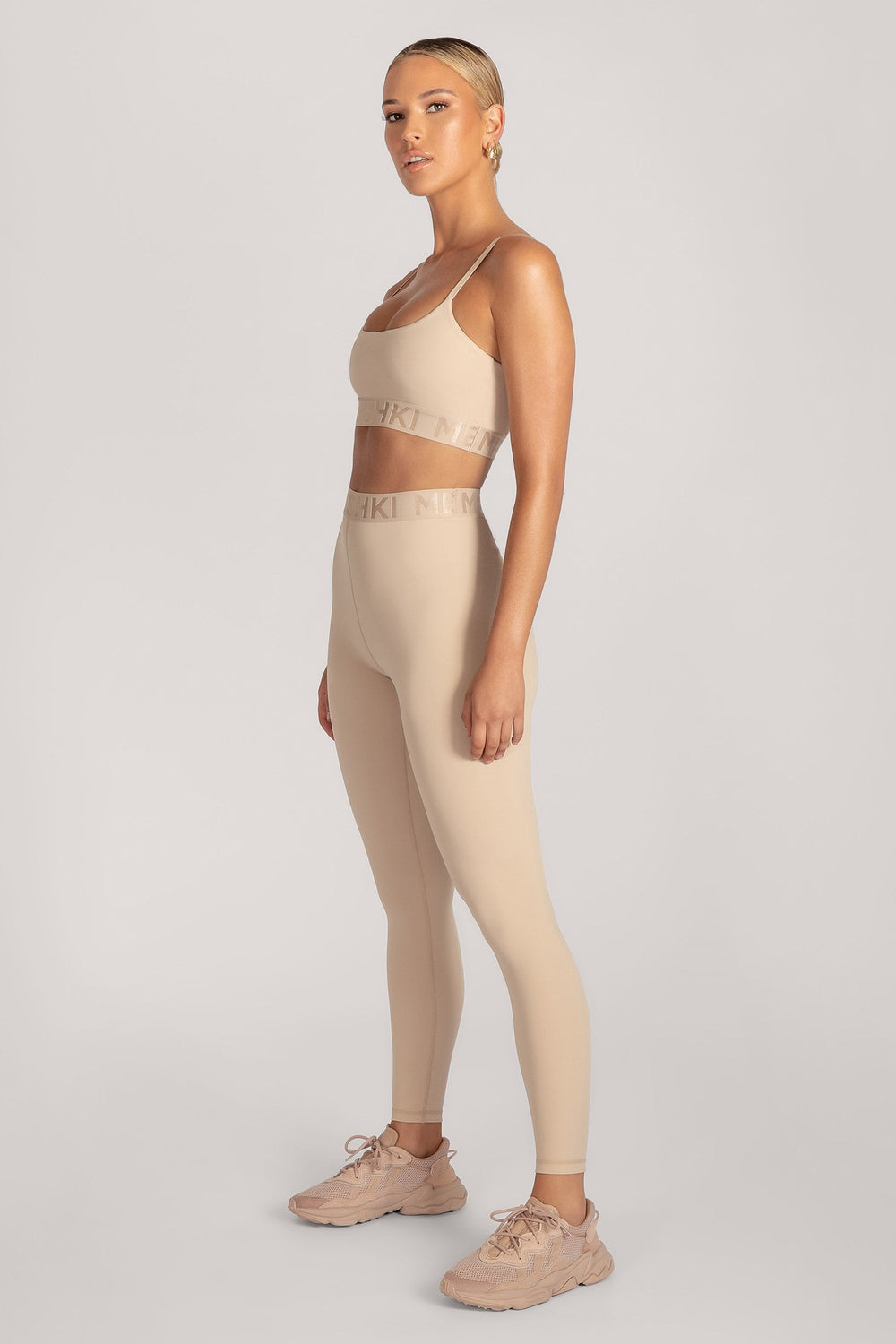 Acacia Meshki Full Length Leggings - Nude - MESHKI ?id=16076116820043