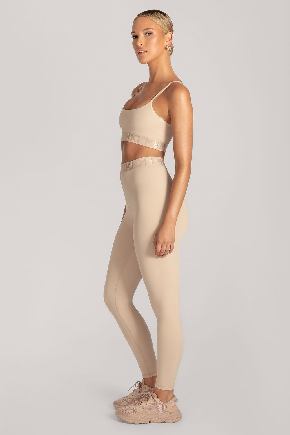 Acacia Meshki Full Length Leggings - Nude - MESHKI ?id=16076117114955