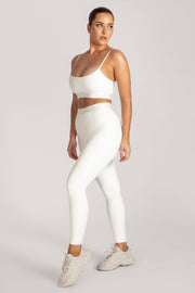 Acacia Meshki Full Length Leggings - White - MESHKI ?id=16076113379403