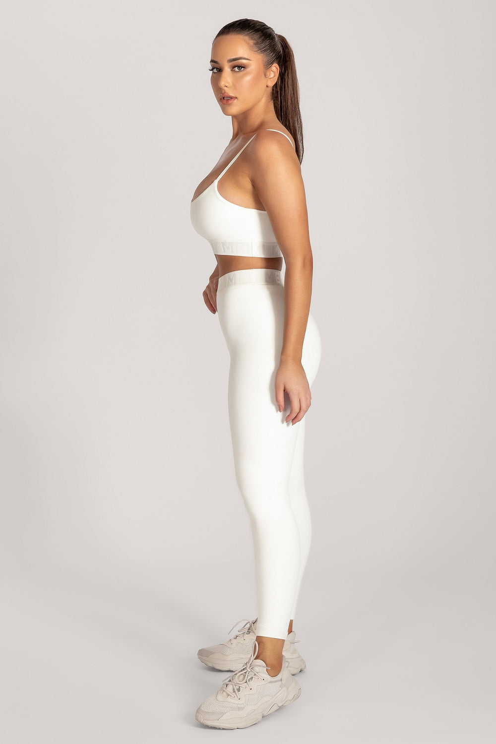 Acacia Meshki Full Length Leggings - White - MESHKI ?id=16076113576011