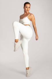 Acacia Meshki Full Length Leggings - White - MESHKI ?id=16076113543243