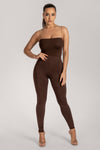 Tilly High Waisted Legging - Chocolate