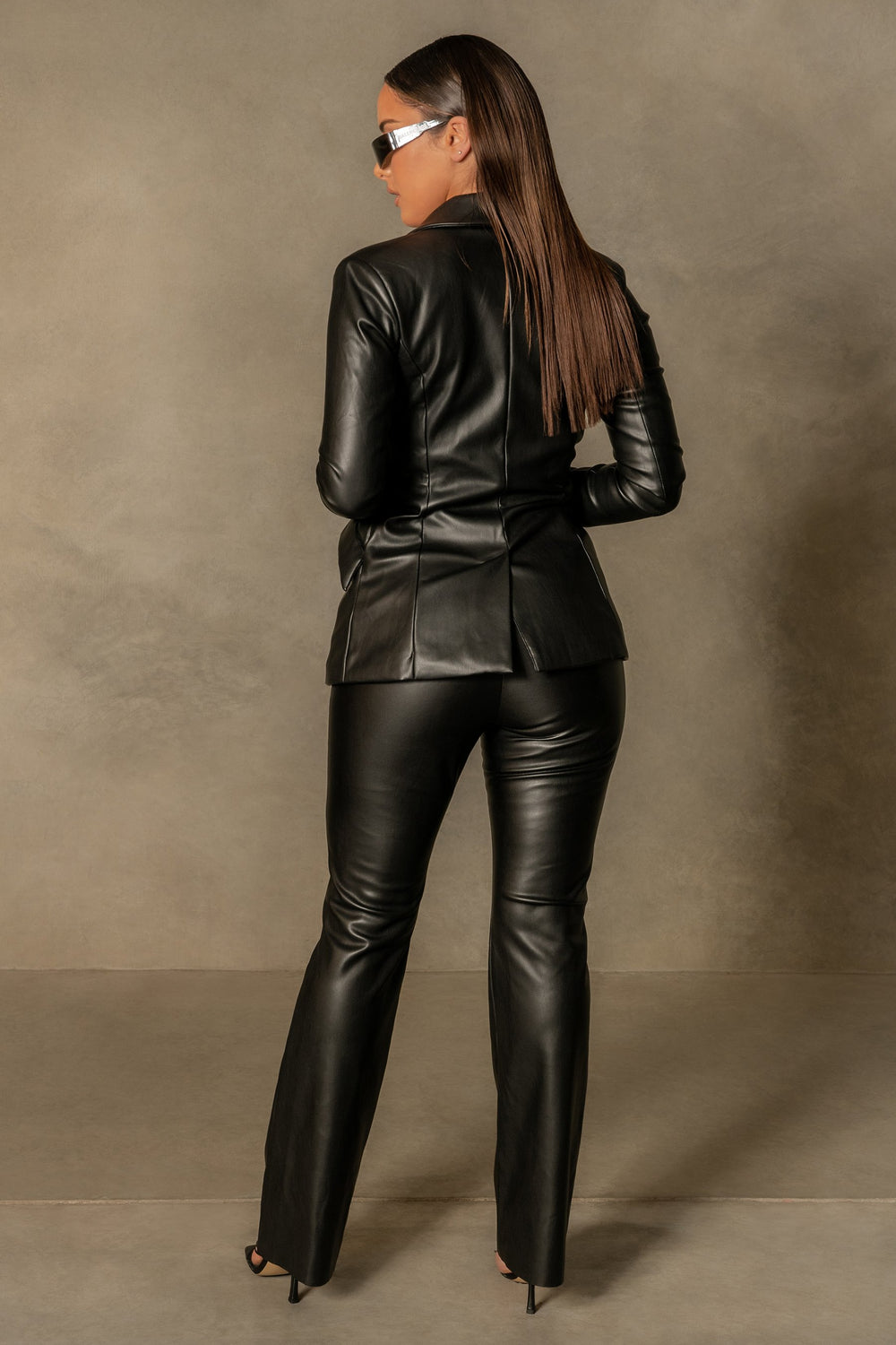 Tyra WIde Leg Faux Leather Pants - Black - MESHKI ?id=16109953089611