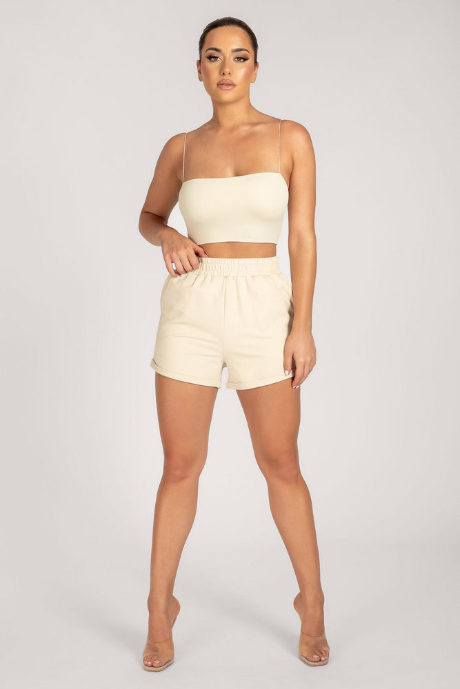 Tahlia Loopback Short - Butter