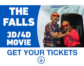 The Falls 3D/4D Movie Legends of Niagara Child (age 3-12, children under 3 free)
