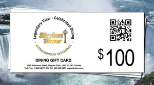 $100 Dining Gift Card