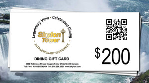 $200 Dining Gift Card