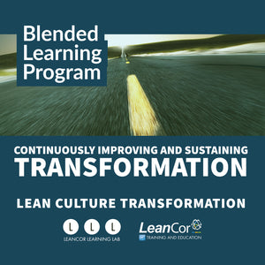 Continuously Improving and Sustaining Transformation