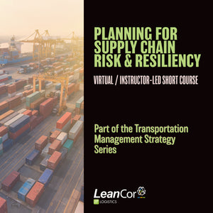 Planning for Supply Chain Risk and Resiliency