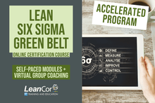 Load image into Gallery viewer, Accelerated Lean Six Sigma Green Belt for Supply Chain: Virtual Certification Course (Starts Sept 2020)