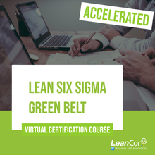Load image into Gallery viewer, Lean Six Sigma Green Belt Online Course