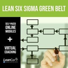 Load image into Gallery viewer, Lean Six Sigma Green Belt for Supply Chain: Blended Certification Course (Starts August 2019)