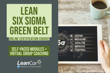 Load image into Gallery viewer, Lean Six Sigma Green Belt for Supply Chain: Blended Certification Course (Starts February 2020)
