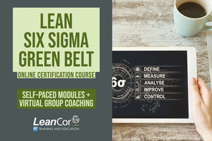 Lean Six Sigma Green Belt for Supply Chain: Blended Certification Course (Starts February 2020)