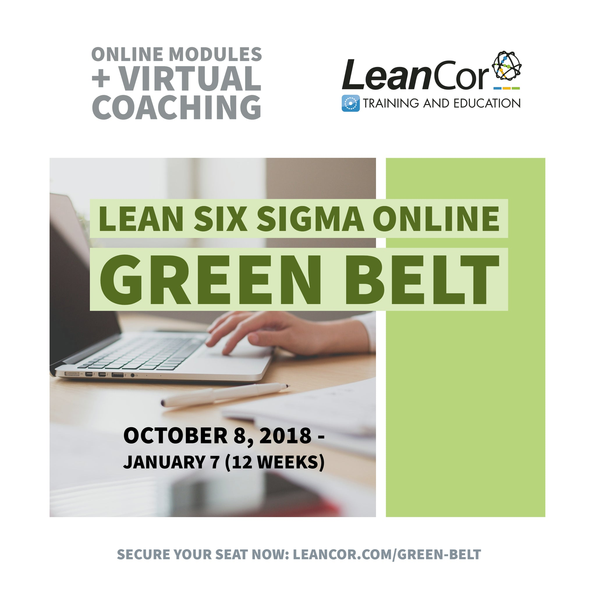 Lean Six Sigma Green Belt Six Sigma Certification Course With
