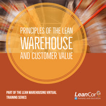 Load image into Gallery viewer, Principles of the Lean Warehouse and Customer Value (VIRTUAL / ON DEMAND)