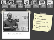 Load image into Gallery viewer, Lean Fundamentals: Self-Paced Online Training Course (On-Demand)