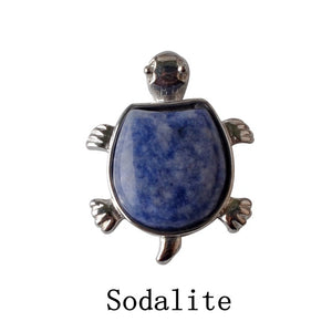 Turtle Nacklace Natural crystal