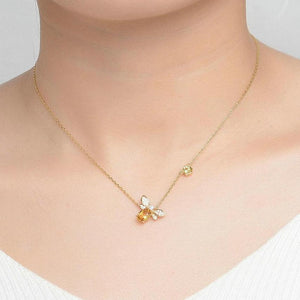 Little Bee 925 Sterling Silver Necklace