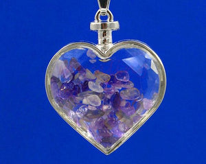 Lucky Crystal Heart Necklace