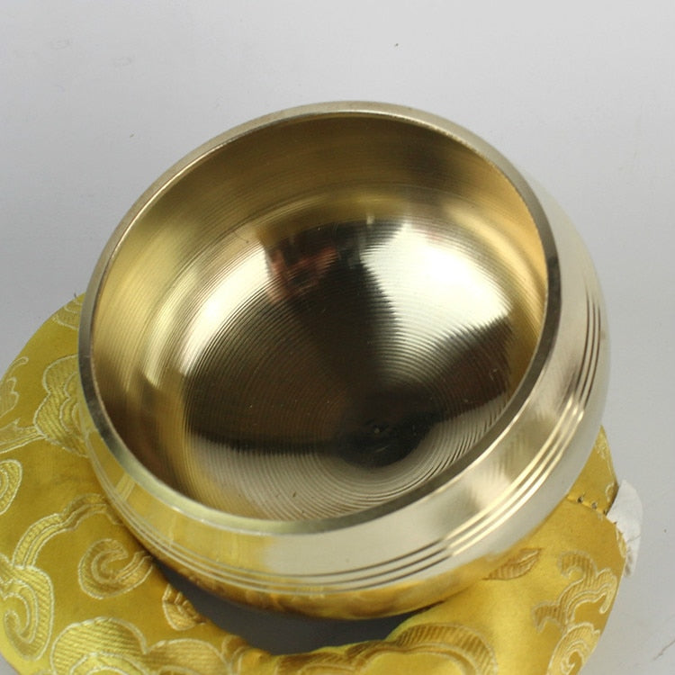 Yoga Tibetan Singing Bowl Himalayan  Chakra Meditation