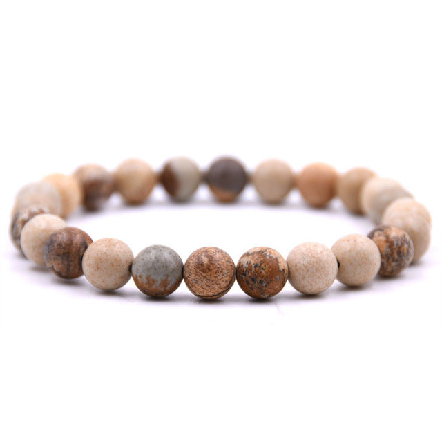 Tiger Eye Buddha Lava Natural Stone  Bracelets (Special)