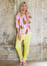 Load image into Gallery viewer, Pineapple Off Shoulder Blouse - Anannasa
