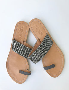 BEADED TOE SLIDES