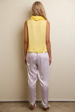 Load image into Gallery viewer, COWL NECK TOP YELLOW