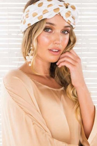 GOLD DOT TURBAN
