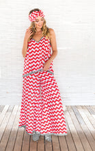 Load image into Gallery viewer, CHEVRON PALAZZO PANTS