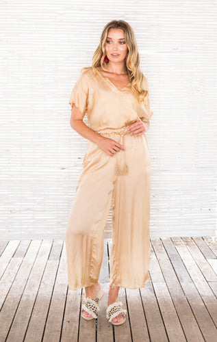 SURI JUMPSUIT GOLD
