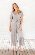 Load image into Gallery viewer, SURI JUMPSUIT SILVER