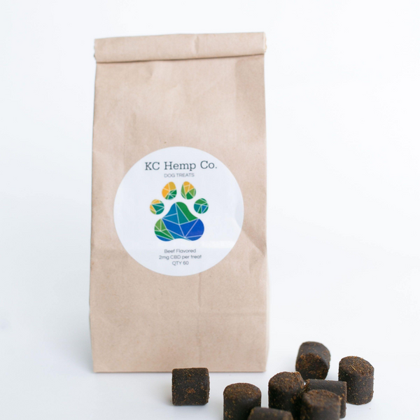 CBD Oil Dog Treats - KC Hemp Co.®