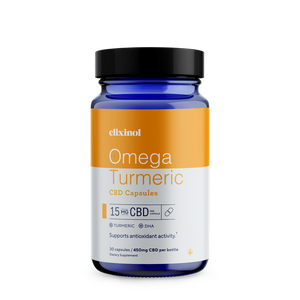 Omega Turmeric CBD Capsules | Full Spectrum | 0.3% THC - KC Hemp Co.®