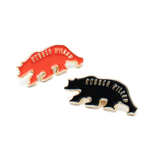 RK BEAR ENAMEL PIN