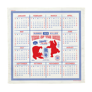 YEAR OF THE BEAR CALENDAR 2020