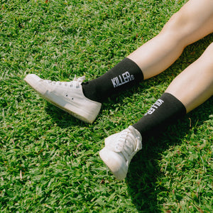 RK CREW SOCKS - BLACK