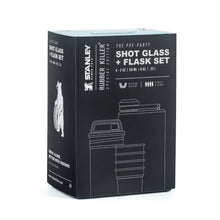 RK SHOT GLASS + FLASK SET BY STANLEY