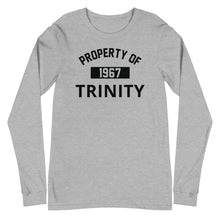 Load image into Gallery viewer, Property of Trinity Unisex Long Sleeve Tee