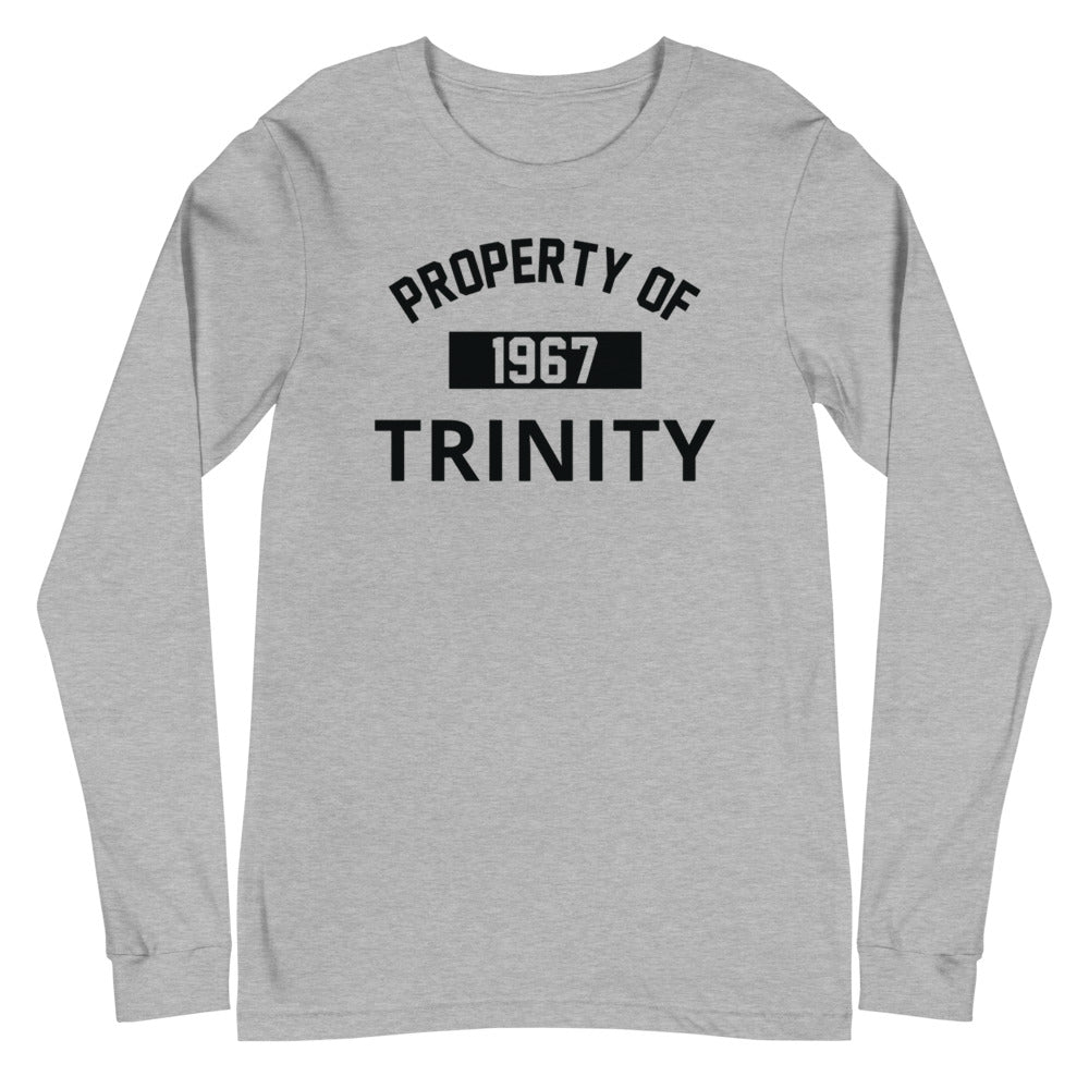 Property of Trinity Unisex Long Sleeve Tee