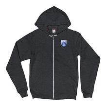 Load image into Gallery viewer, Conqueror Zip-up Hoodie Sweatshirt