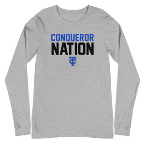 Conqueror Nation Unisex Long Sleeve Tee