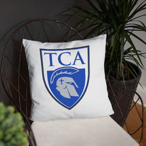 Conqueror Throw Pillow (18x18)
