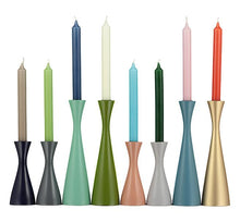 Load image into Gallery viewer, GULL GREY CANDLEHOLDER - Tall