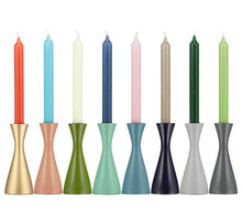 Load image into Gallery viewer, OPALINE GREEN CANDLEHOLDER - Medium