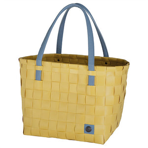 COLOR BLOCK SHOPPER - Mustard/Grey