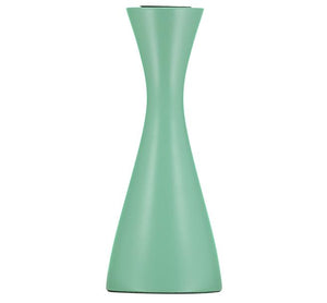OPALINE GREEN CANDLEHOLDER - Medium