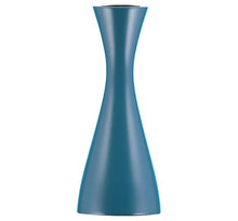 Load image into Gallery viewer, PETROL BLUE CANDLEHOLDER - Medium