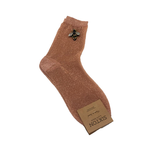 RIO SOCKS with BEE PIN - Copper